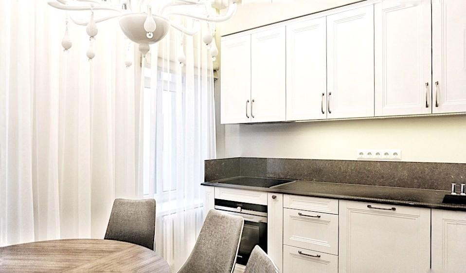 Klasiskas virtuves interjers