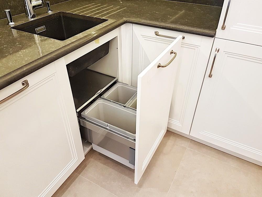 Virtuves atkritumu sistēma