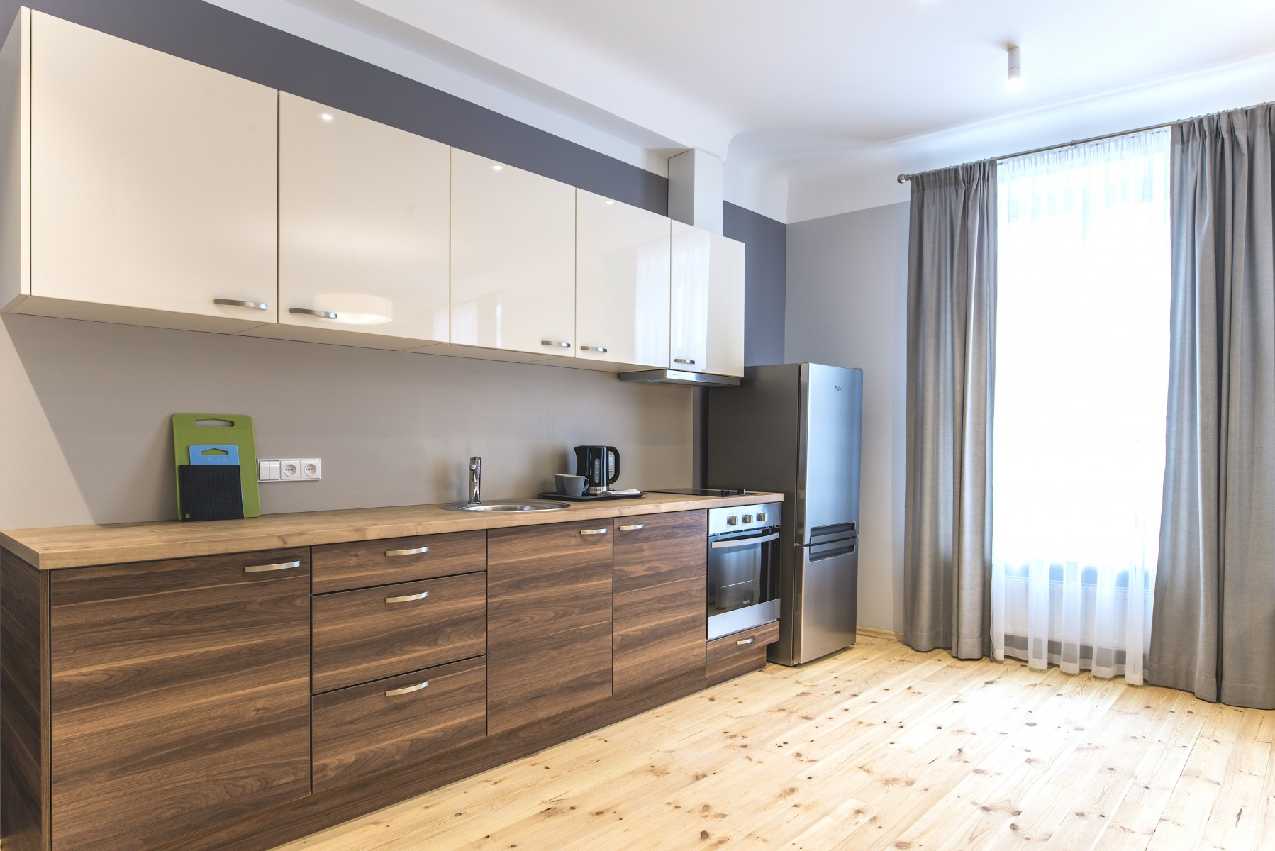 Virtuves mēbeles īres projektiem